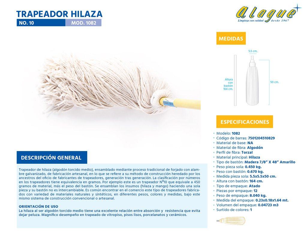 Trapeador Hilaza No. 10