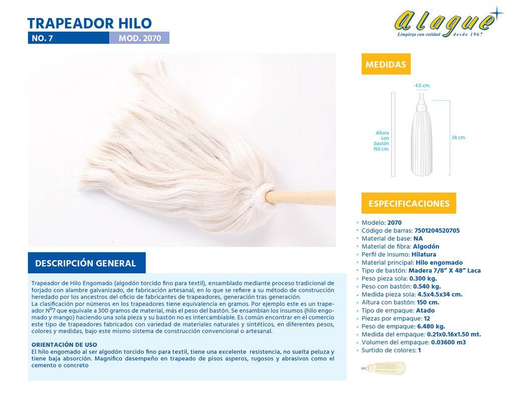 Trapeador Hilo No. 7