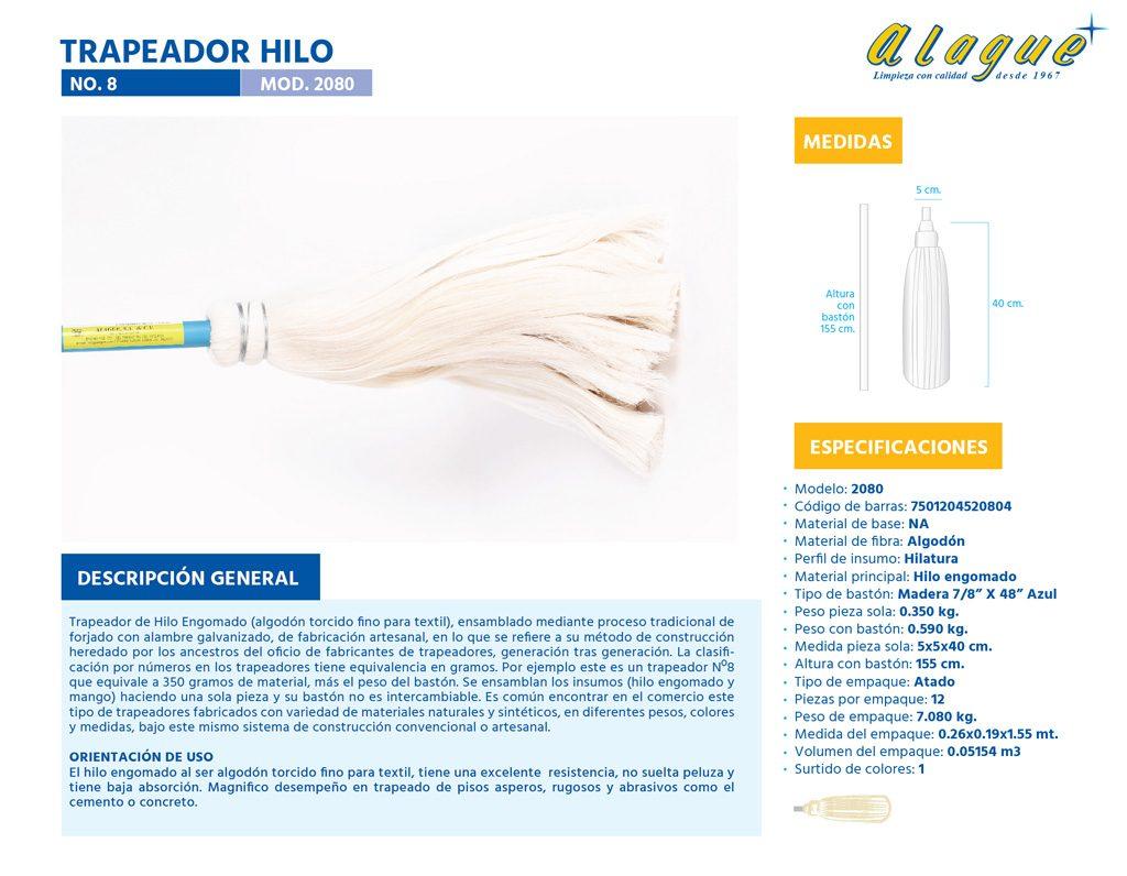 Trapeador Hilo No.8