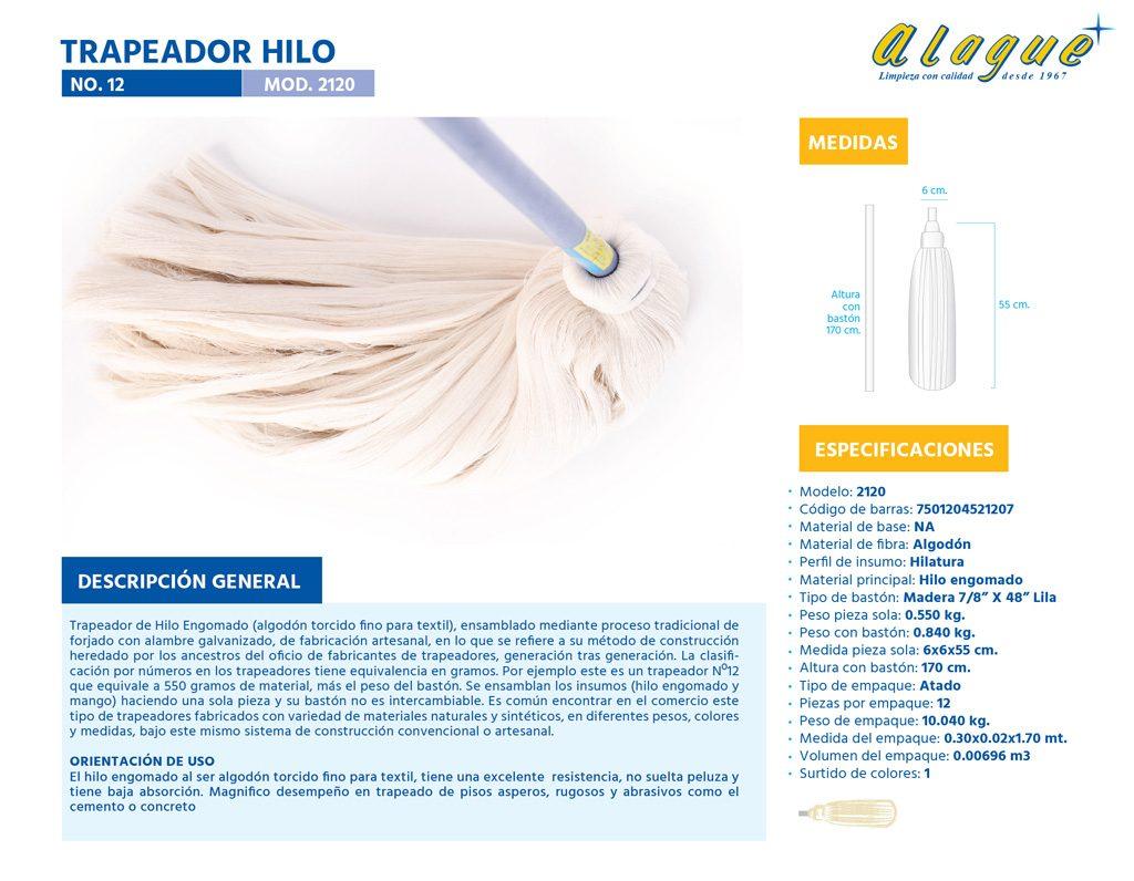 Trapeador Hilo No.12
