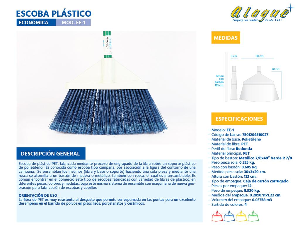 Escoba Plástico Económica