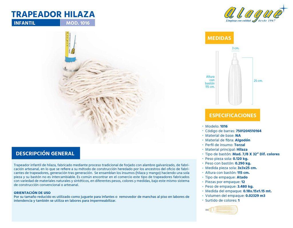 Trapeador Hilaza Infantil