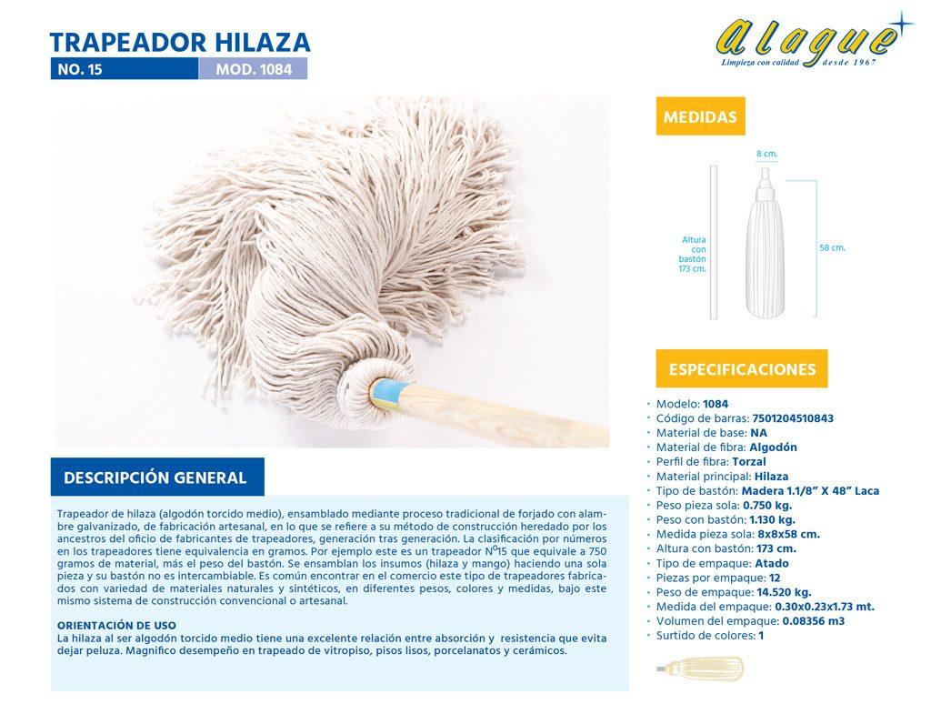 Trapeador Hilaza No. 15