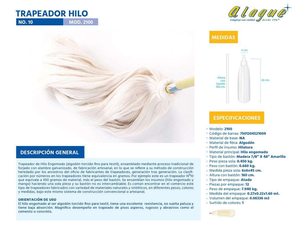 Trapeador Hilo No.10