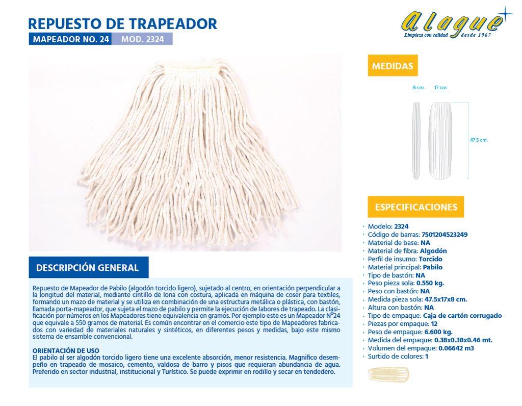 Rep. de Trapeador (Mapeador) No.24