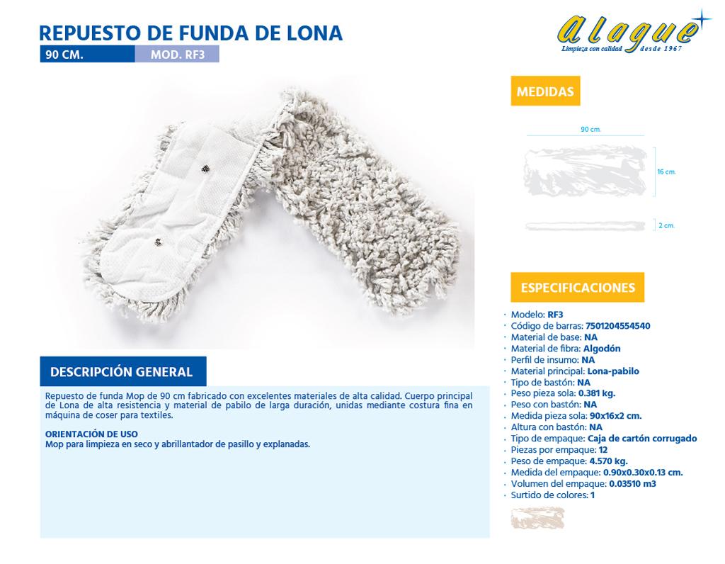 Repuesto de Funda de Lona 90 Cms.